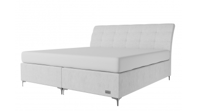Čalouněná postel boxspring CLAUDIA 200x200, MATERASSO