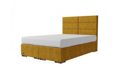 Čalouněná postel boxspring CORONA 140x200, MATERASSO