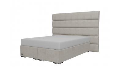 Čalouněná postel boxspring HORIZONTAL 140x200, MATERASSO