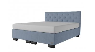 Čalouněná postel boxspring ALESIA 180x200, MATERASSO