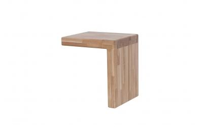 Noční stolek IMPERIA dub cink