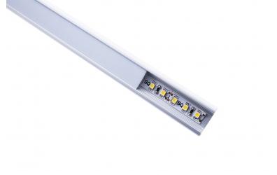 LED osvětlení postele LEVITY, teplá bílá
