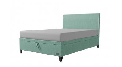 Čalouněná postel boxspring výklop Maxi SIENA, 140x200, MATERASSO