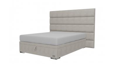 Čalouněná postel boxspring výklop Maxi HORIZONTAL, 140x200, MATERASSO