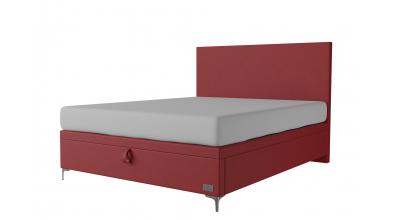 Čalouněná postel boxspring výklop Maxi SIRIUS, 160x200, MATERASSO