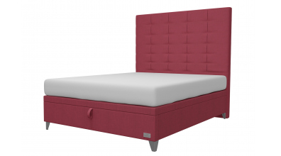 Čalouněná postel boxspring výklop Maxi WILD, 160x200, MATERASSO