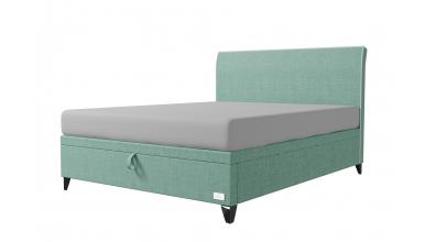 Čalouněná postel boxspring výklop Maxi SIENA, 160x200, MATERASSO