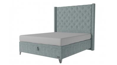 Čalouněná postel boxspring výklop Maxi VIENNA, 160x200, MATERASSO