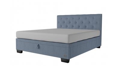 Čalouněná postel boxspring výklop Maxi ALESIA, 180x200, MATERASSO