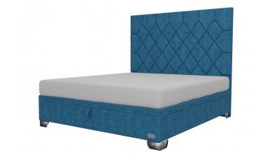 Čalouněná postel boxspring výklop Maxi RHOMBUS, 180x200, MATERASSO