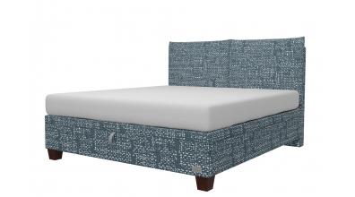Čalouněná postel boxspring výklop Maxi KINGSTONE, 180x200, MATERASSO