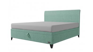 Čalouněná postel boxspring výklop Maxi SIENA, 180x200, MATERASSO