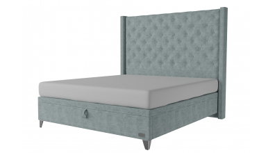 Čalouněná postel boxspring výklop Maxi VIENNA, 180x200, MATERASSO