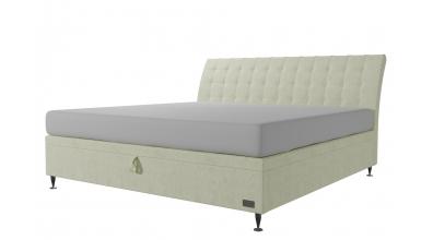Čalouněná postel boxspring výklop Maxi FRANCESCA, 200x200, MATERASSO