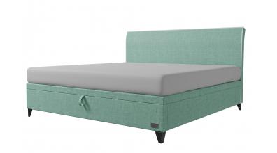 Čalouněná postel boxspring výklop Maxi SIENA, 200x200, MATERASSO