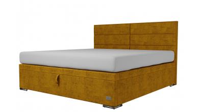 Čalouněná postel boxspring výklop Maxi CORONA, 200x200, MATERASSO