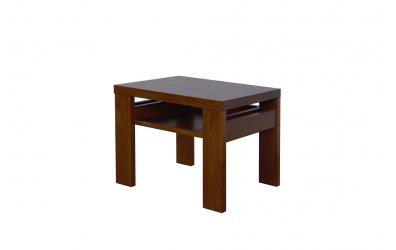 Noční stolek 2 s policí buk cink