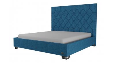 Čalouněná postel Rhombus,200x200, MATERASSO