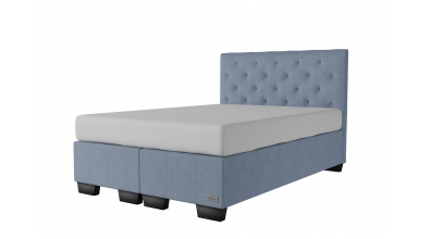 Čalouněná postel boxspring ALESIA 140x200, MATERASSO