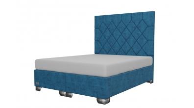Čalouněná postel boxspring RHOMBUS 160x200, MATERASSO