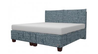 Čalouněná postel boxspring KINGSTONE 200x200, MATERASSO