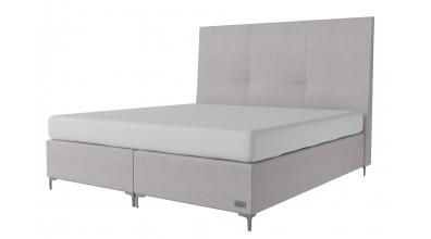 Čalouněná postel boxspring PRESTIGE 200x200, MATERASSO