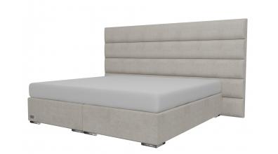 Čalouněná postel boxspring HORIZONTAL 200x200, MATERASSO