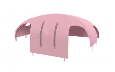 Domeček stan PASTEL pro dělené čelo a zábranu A B pravý růžový