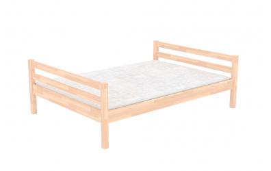 Dvoulůžko 120 buk cink, dětská postel z masivu