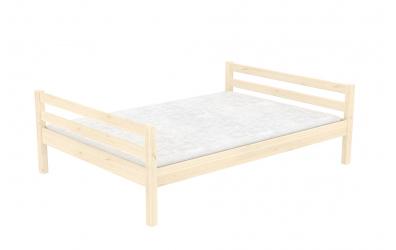 Dvoulůžko smrk, dětská postel z masivu