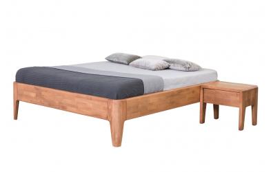 Manželská postel FANTAZIE 180 cm buk cink